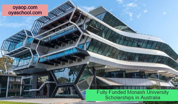 Fully Funded Monash University Scholarships in Australia