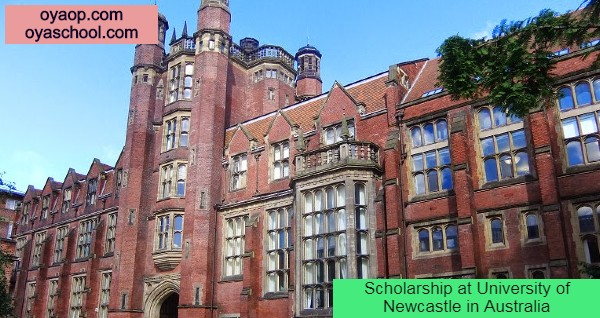 Scholarship at University of Newcastle in Australia