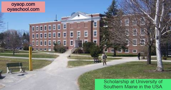 Scholarship at University of Southern Maine in the USA