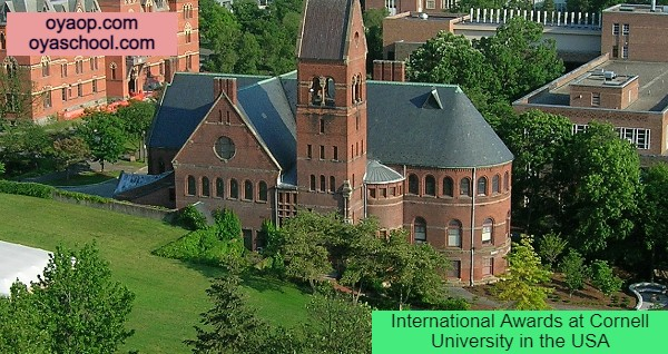 International Awards at Cornell University in the USA