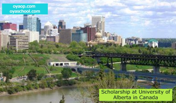 Scholarship at University of Alberta in Canada
