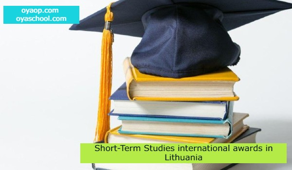 Short-Term Studies international awards in Lithuania