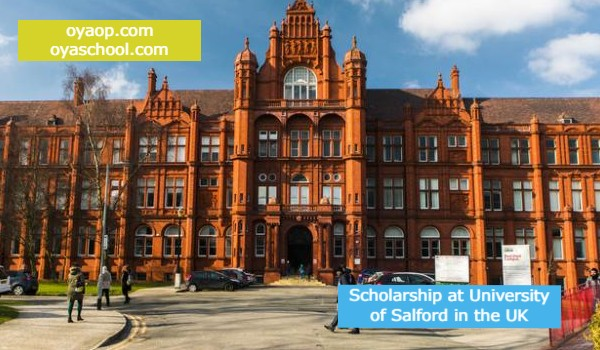 Scholarship at University of Salford in the UK