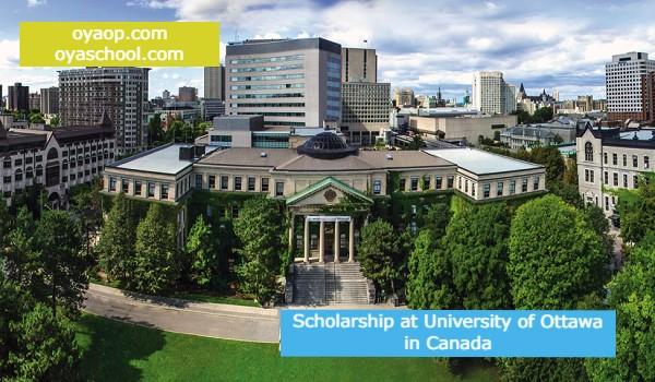 Scholarship at University of Ottawa in Canada