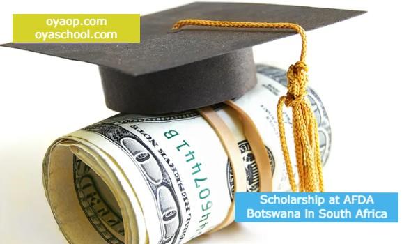 Scholarship at AFDA Botswana in South Africa