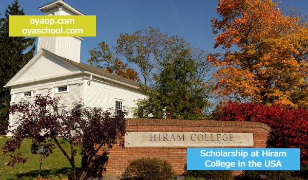 Scholarship atHiram Collegein the USA