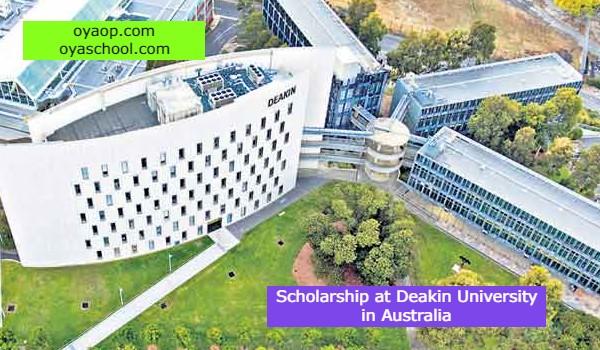 Scholarship at Deakin University in Australia