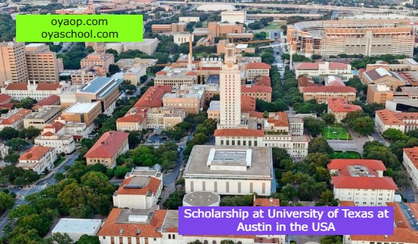 Scholarship at University of Texas at Austin in the USA