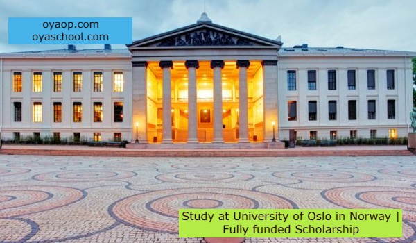 Study at University of Oslo in Norway   Fully funded Scholarship