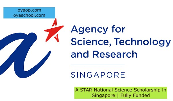 A STAR National Science Scholarship in Singapore   Fully Funded
