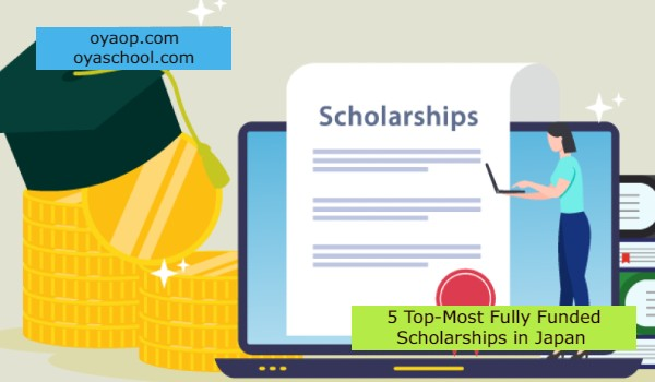 5 Top-Most Fully Funded Scholarships in Japan