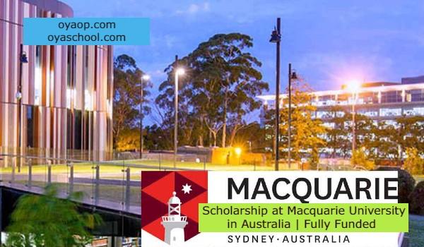 Scholarship at Macquarie University in Australia | Fully Funded