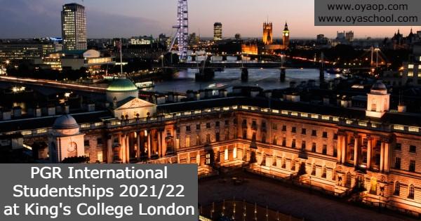 PGR International Studentships