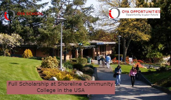 Full Scholarship at Shoreline Community College in the USA