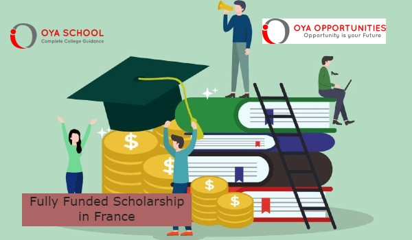 Fully Funded Scholarship in France