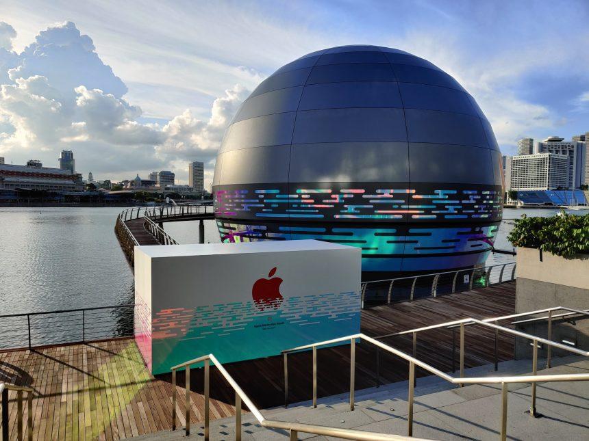 ¡Ya queremos ir! Apple abrirá una espectacular tienda flotante en Singapur