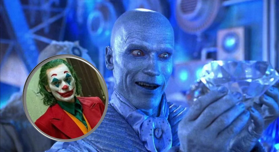 mr freeze estilo joker