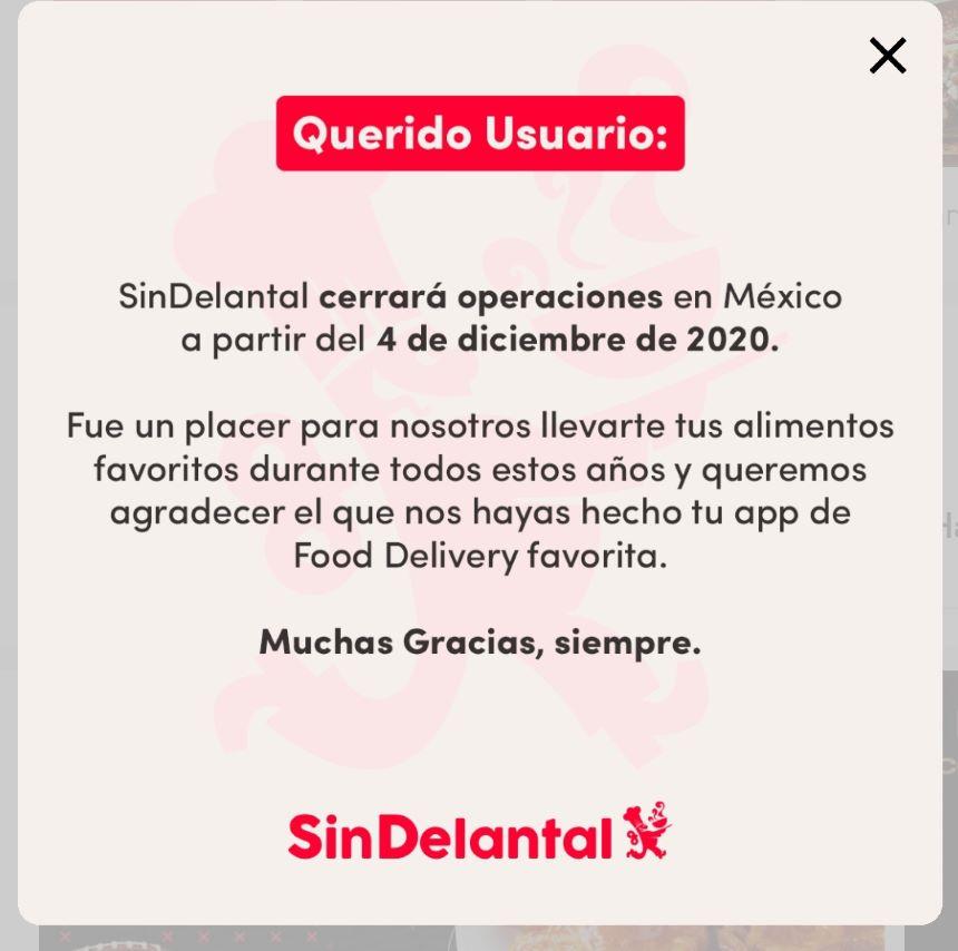 ¡Adiós, vaquero! SinDelantal se despide de México en diciembre