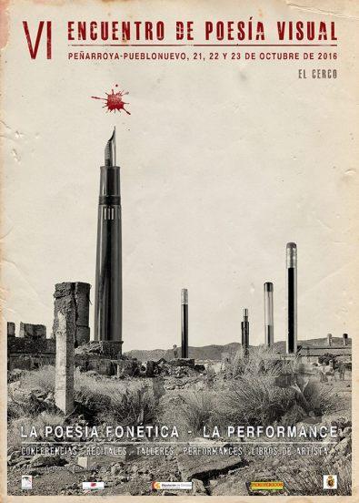 Cartel del encuentro, obra de Edu Barbero
