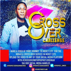 Nigerian Celebrities, Akpororo, Francis Duru, Gordons, Endorse Crossover Night with Senior Prophet Jeremiah Fufeyin at Mercy City Warri