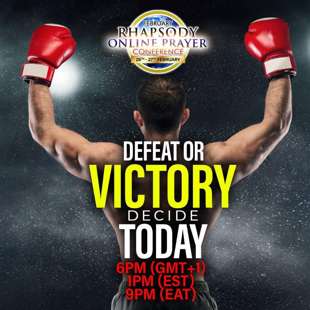 Defeat or Victory Decide Today