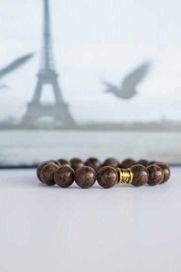 oyindoubara brown jasper beaded bracelet cp2