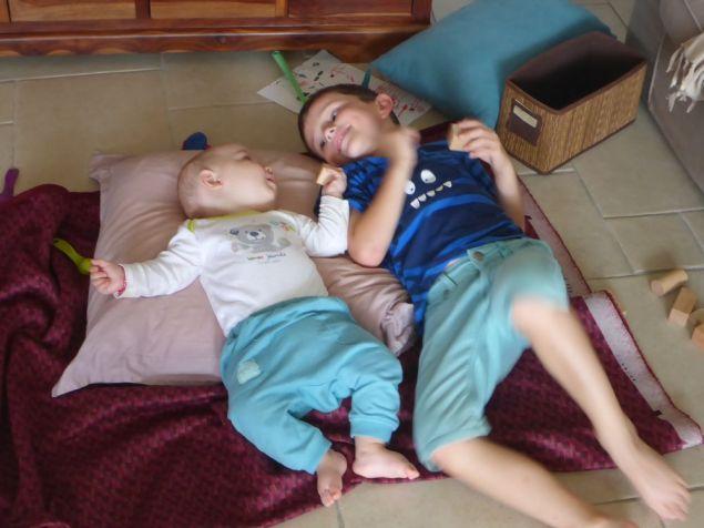 Clovis fait connaissance avec son cousin Amory | Clovis meet his cousin Amory