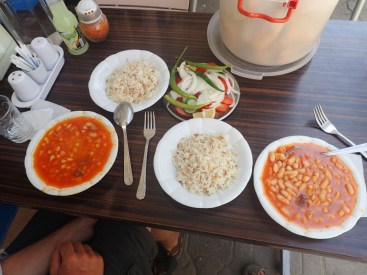 Plat a base de haricots | Dish with beans