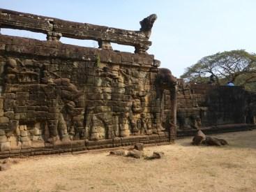 Angkor : terrasse des éléphants | Elephants terrace