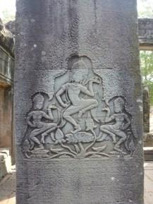 Angkor : danse d'une Apsara, divinité hindou | Apsara dance Hindu divinity