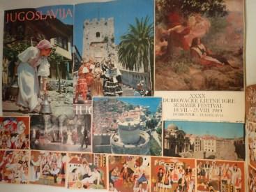 Souvenirs de Yougoslavie | Souvenirs of Yougoslavia