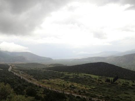 Route vers Delphes | Road to Delphi