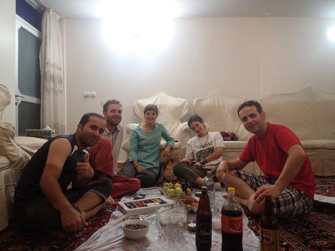 Mohamed, Sally et Siavash