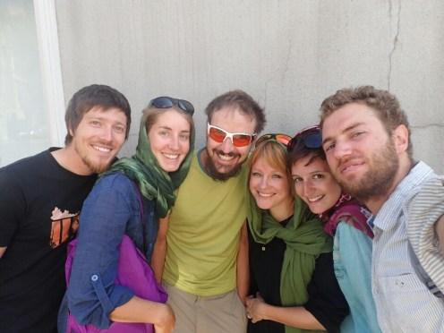 Cyclos : Philip, Leonie, Guillaume et Martina