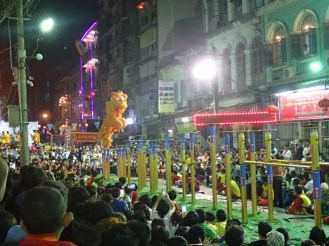 Rangoon : Animation du nouvel an chinois | Chinese new year show