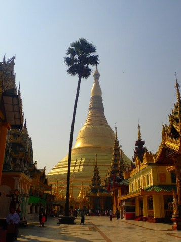 Rangoon : Shwedagon Paya