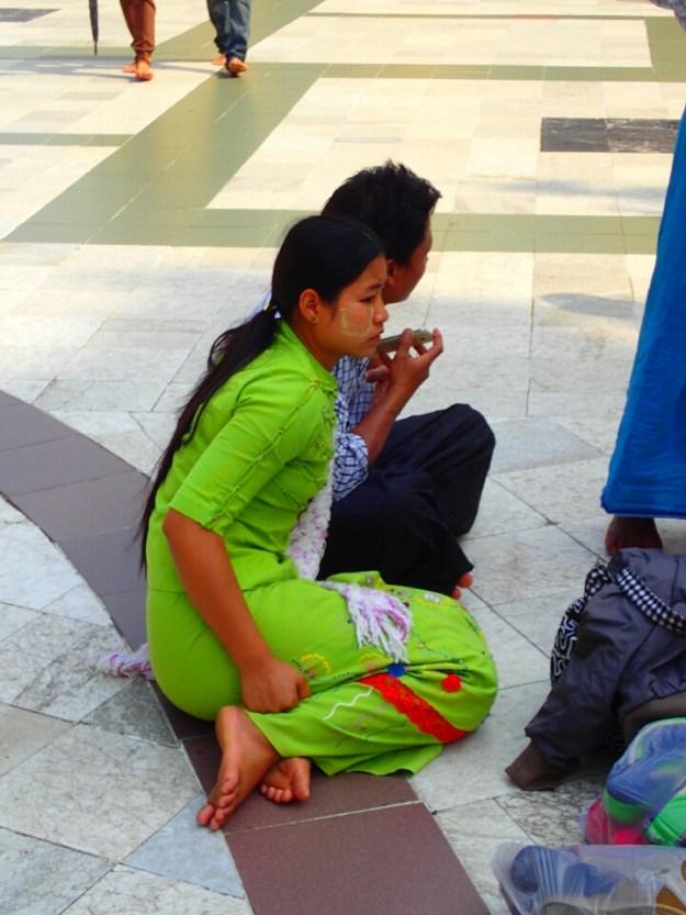 Rangoon : Shwedagon Paya