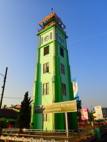 Thaton : Tour de l'horloge | Clock tower