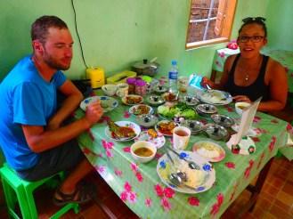 Hpa-an : Déjeuner avec Mélissa | A lunch with Mélissa