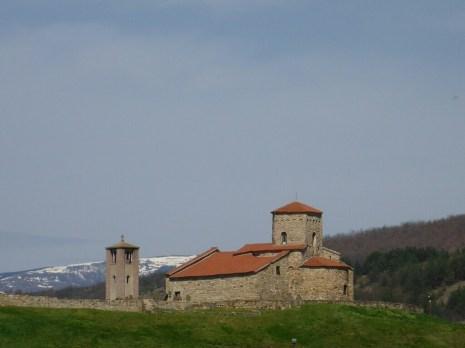 Église à côté de Novi Pazar