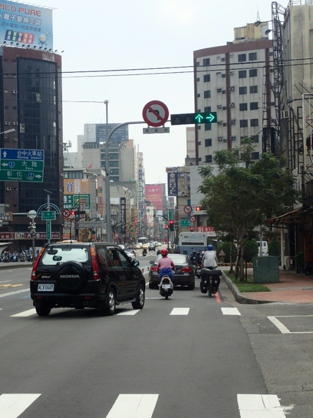 Arrivée à Taichung | Arrival un Taichung