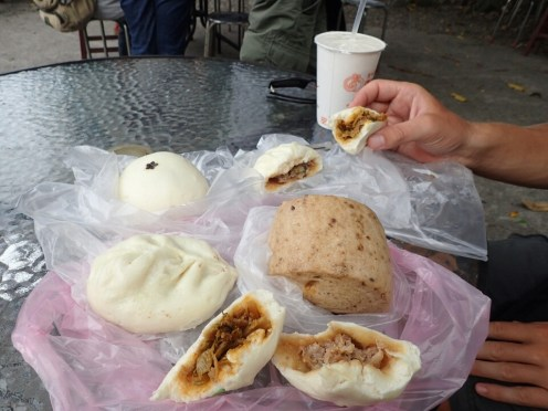 Bao : Pains à la vapeur fourrés | Filled steam bread