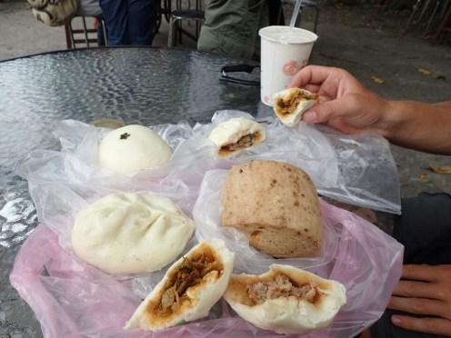 Bao : Pains à la vapeur fourrés | Filled steam bread