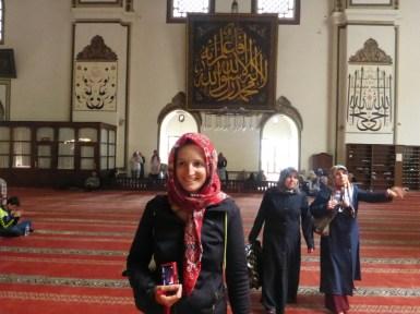 Voile obligatoire | Required headscarf
