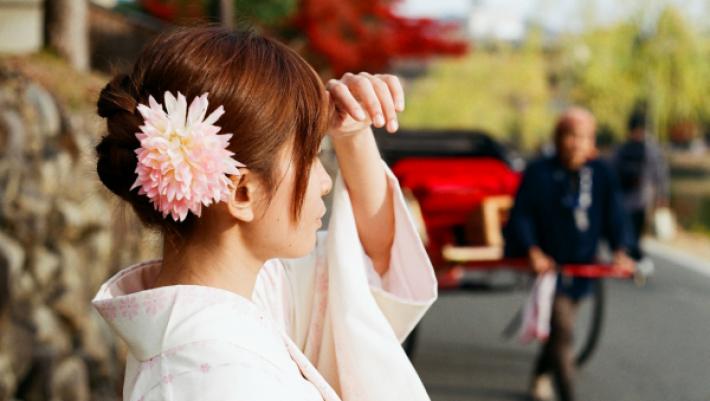 和服_人力車_奈良___Flickr_-_Photo_Sharing_
