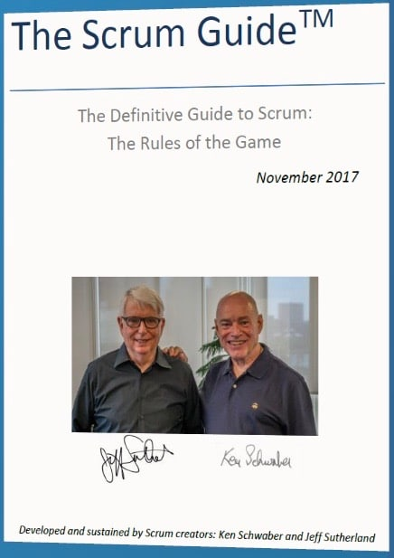 Scrum Guide 2017 : Quoi de neuf ?