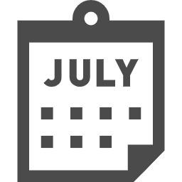 カレンダーのアイコン素材 3 オヨヨ書林