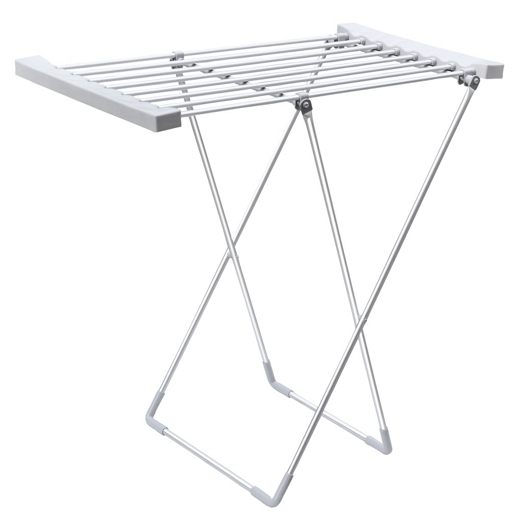 Electric Heated 8 Bar Foldable Folding Clothes Horse Airer Dryer