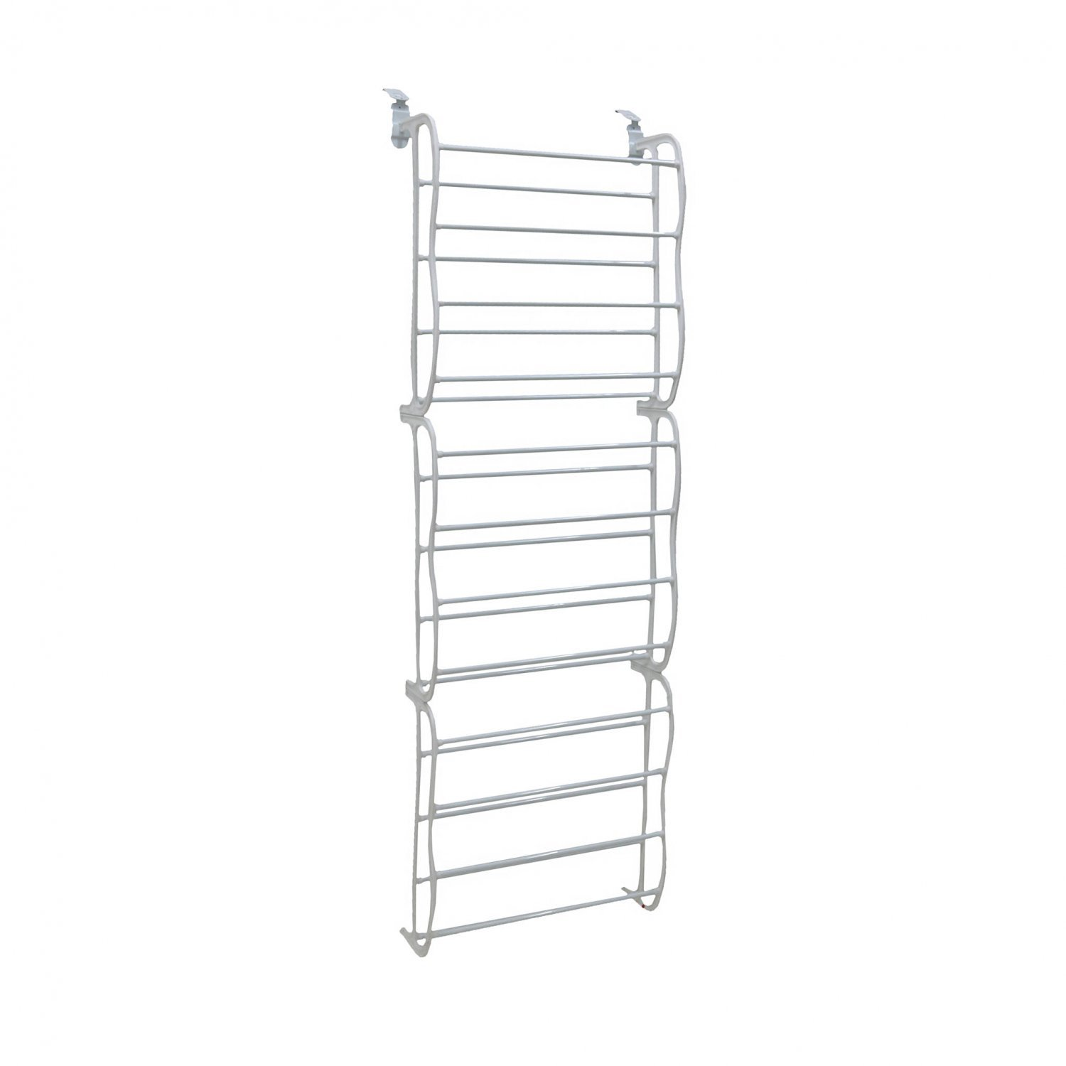 White 36 Pair Door Hanging Shelf Shoe Rack Storage