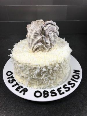 osyter shell birthday cake